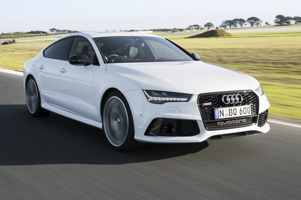 Ugo Colombo and the Audi RS7 Performance